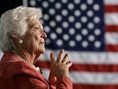 अमेरिका की पूर्व प्रथम महिला बारबरा बुश का 92 साल की उम्र में निधन