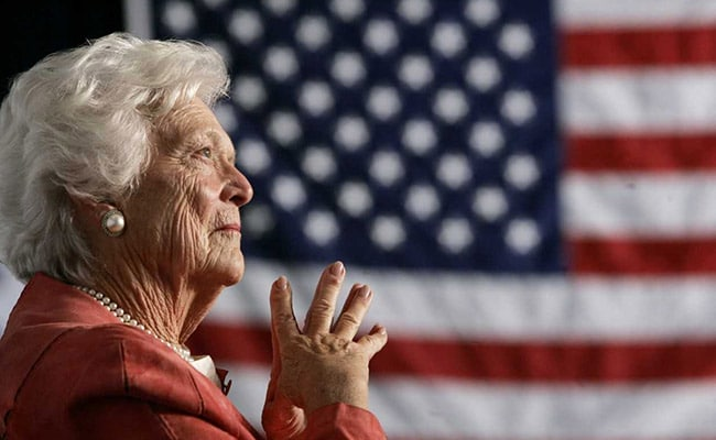 barbara bush reuters