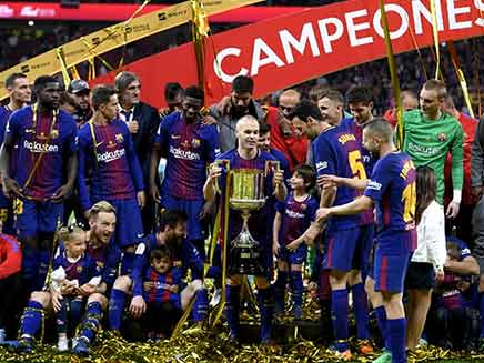 Barcelona Rout Sevilla 5-0 For 30th Copa Del Rey Triumph