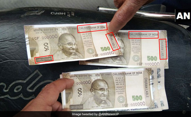 Bareilly Man Gets Fake Rs 500 Note From ATM, Issued By 'Children Bank Of India'
