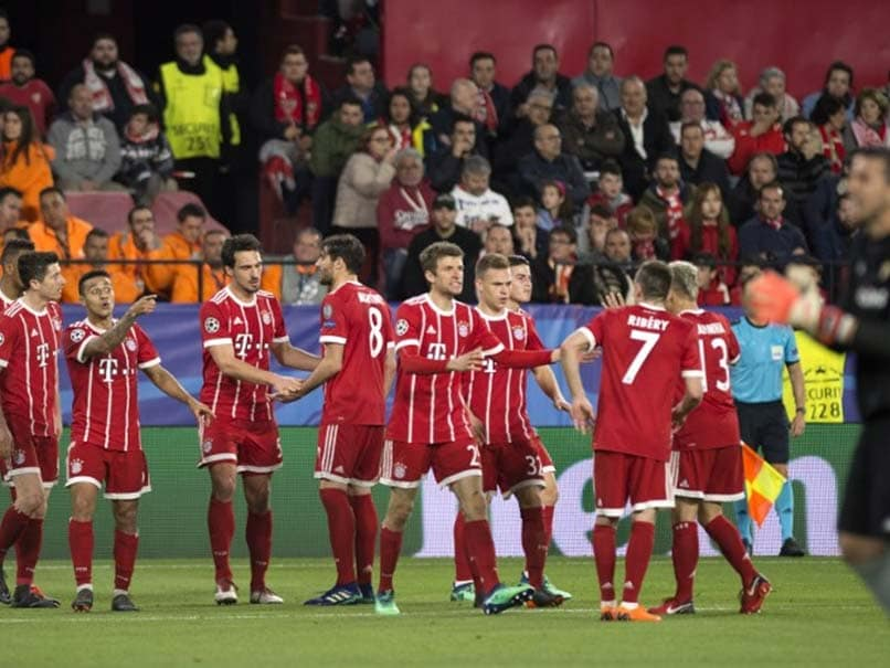 Champions League: Thiago Alcantara Grabs Winner As Bayern Munich Come Back To Beat Sevilla
