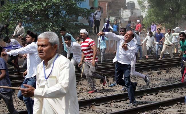 bharat bandh ghaziabad protests pti