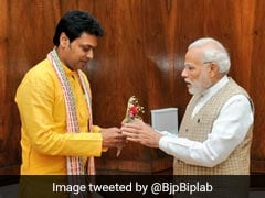Tripura's Biplab Deb May Get An Earful From PM Modi Over Howlers: Sources