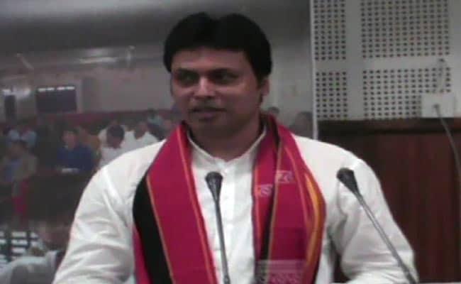 त्रिपुरा के CM बिप्लब देब का दावा, महाभारत युग में भी थी इंटरनेट की सुविधा