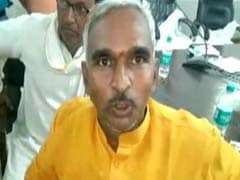 BJP Lawmaker Allegedly Misbehaves With Education Officer In UP