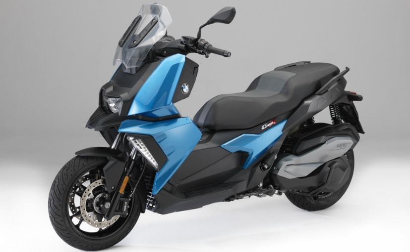 The production version of the BMW C 400 scooter will get a 350 cc single-cylinder engine