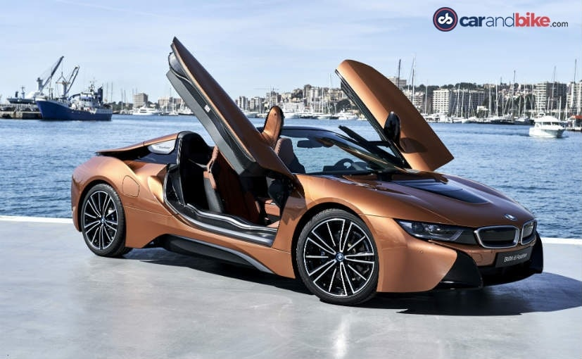 Bmw I8 Roadster Review Green Performance With The Top Down Ndtv