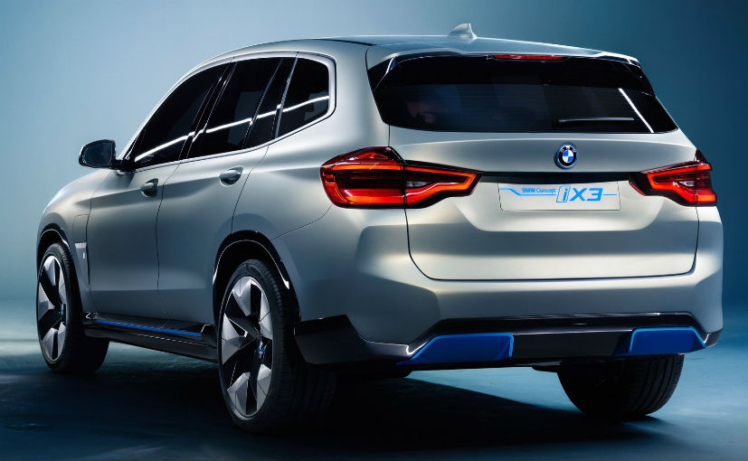 Bmw Ix3 Electric Suv Debuts At Beijing Motor Show Carandbike