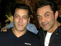 Salman Khan's <I>Race 3</i> Co-Star Bobby Deol Has A Message For Him
