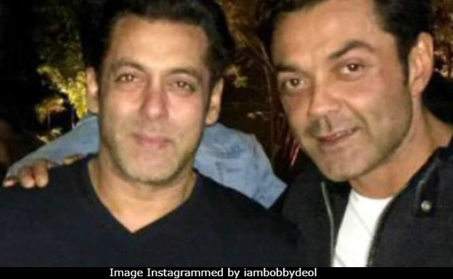 Salman Khan's Race 3 Co-Star Bobby Deol Has A Message For Him