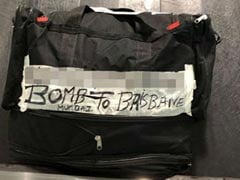 """""""Bomb To Brisbane"""" Read Label On Bag At Airport. Grandma Meant Bombay"""