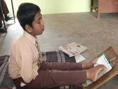 Unable To Move Hands, Feet Once, Punjab Boy, 11, Now Writes, Paints With Toes