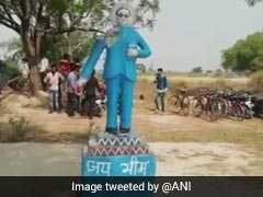 सरकार की सख्ती के बाद भी असामाजिक तत्व बेखौफ, अब फिरोजाबाद में अंबेडकर की मूर्ति तोड़ी