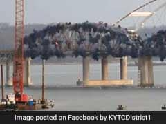 86-Year-Old Bridge Demolished. Spectacular Video Is A Must Watch