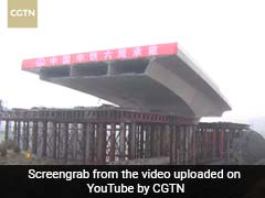 It Took Two Hours To Rotate This Massive 15,000-Ton Bridge. Watch