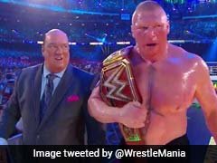 Wrestlemania 34: Brock Lesnar Beats Roman Reigns To Retain WWE Universal Championship Title