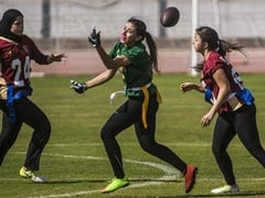 Egypt Women Take To The American Football Field