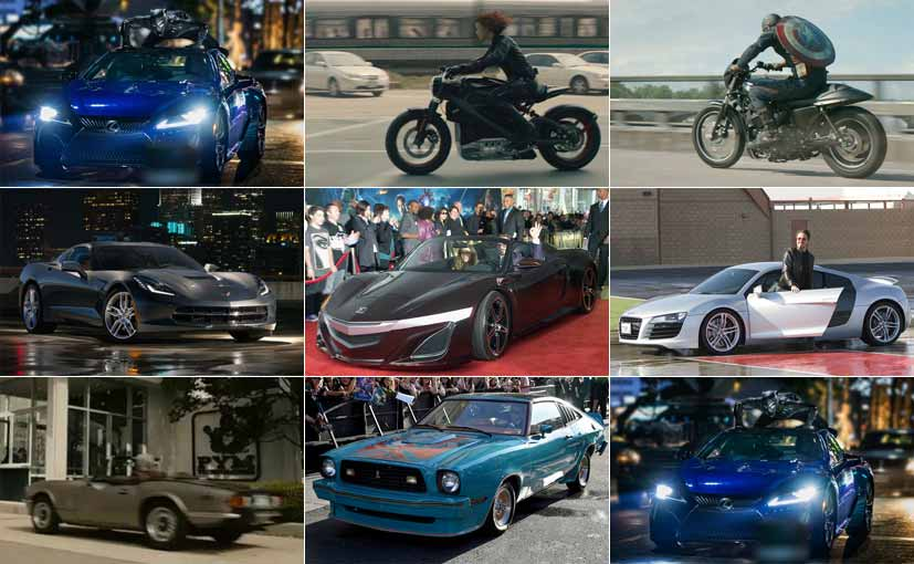 We revisit some of our favourite cars and bikes part of the Marvel Cinematic Universe