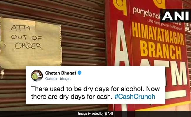 Demonetisation Flashback, Says Twitter As ATMs Run Dry In Some States