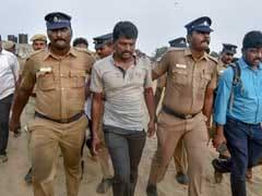 Flash Protest At Chennai's Marina Beach On Cauvery Issue
