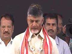 PM Modi Survives On Publicity: Chandrababu Naidu