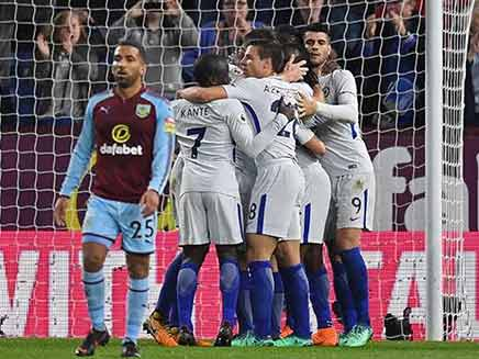 Premier League: Chelsea Keep Champions League Hopes Alive With Win Over Burnley