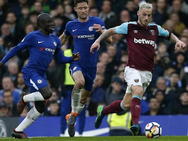 Premier League: West Ham Striker Javier Hernandez Leaves Chelseas Top-Four Bid In Tatters