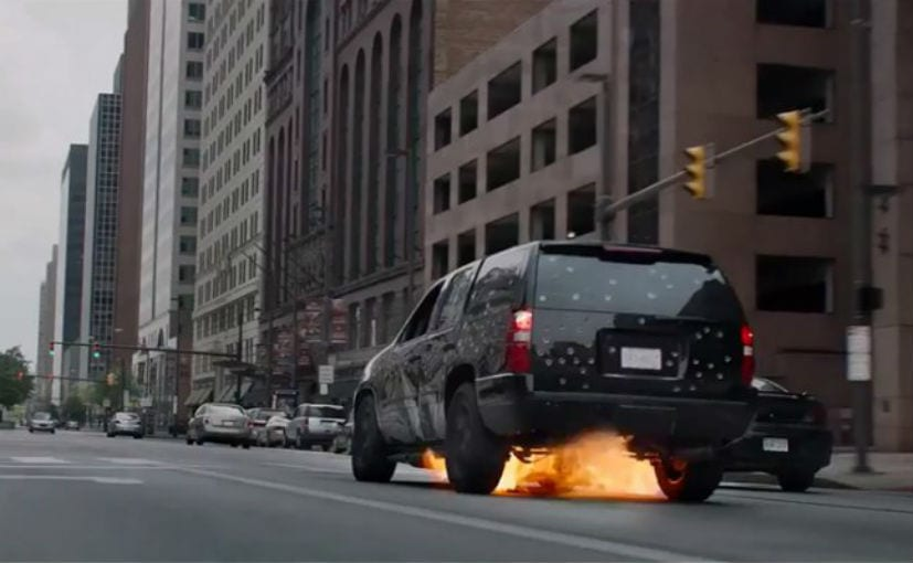 chevrolet tahoe captain america winter soldier