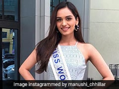 Here's What Miss World Manushi Chhillar Packed To Wear In Brazil