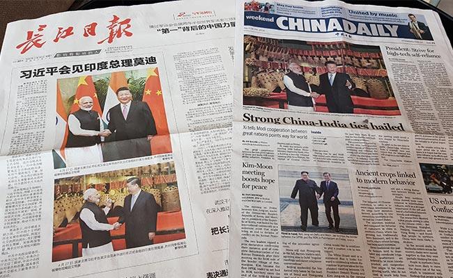 PM Modi, Xi Jinping 'No Baggage' Informal Meet Praised By Chinese Media