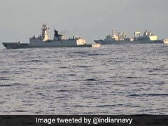 """Happy Hunting"": Navy Trolls Chinese Ships In Indian Ocean"