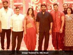 When Chiranjeevi Stopped By Allu Arjun's <i>Naa Peru, Surya Naa Illu India</i> Sets, This Happened