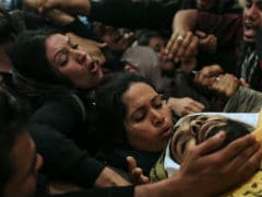 """Gazans Bury Their Dead, Call For """"Revenge"""" After Bloodiest Day In Years"""