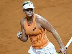 CoCo Vandeweghe Crushes Top Seed Simona Halep In Stuttgart