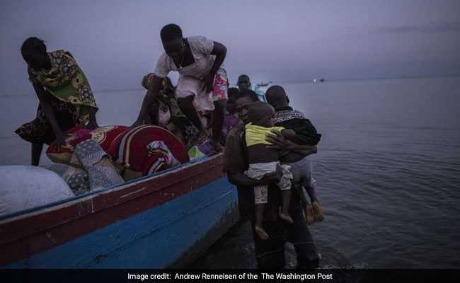 Caught In Congo's Tides Of War: 40,000 Have Crossed A Lake Seeking Refuge