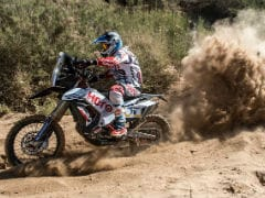Merzouga Rally 2018: Sherco TVS' Joan Pedrero Leads Indian Contingent At The End of Stage 1; CS Santosh At P20