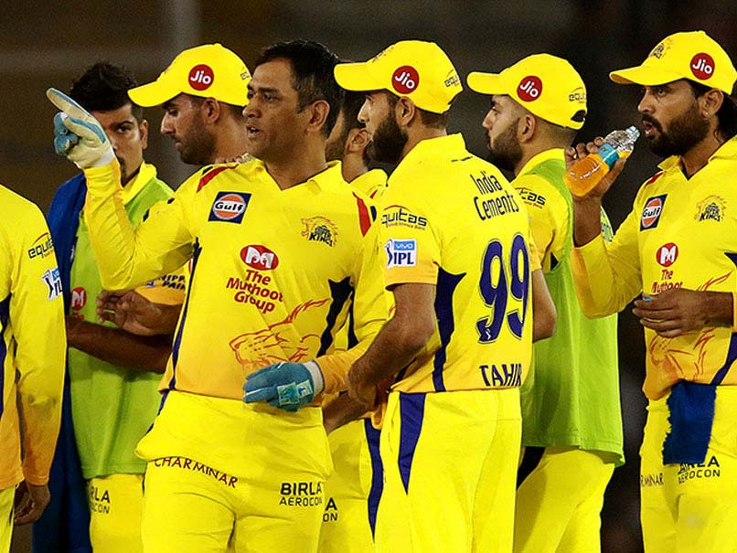 CSK return to top of IPL table