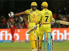 IPL 2018: Blazing MS Dhoni, Ambati Rayudu Power CSK To A Stunning 5-Wicket Win Over RCB