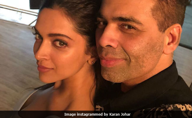 What Are Deepika Padukone And 'New Director' Karan Johar Up To?