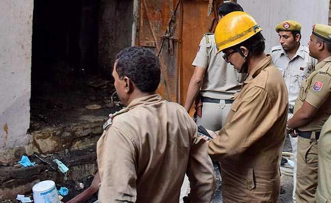 Fire At Delhi Shoe Factory Kills Four