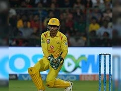 IPL 2018: MS Dhoni, With Pads And Gloves On, Saves Boundary In CSK Vs RCB Clash