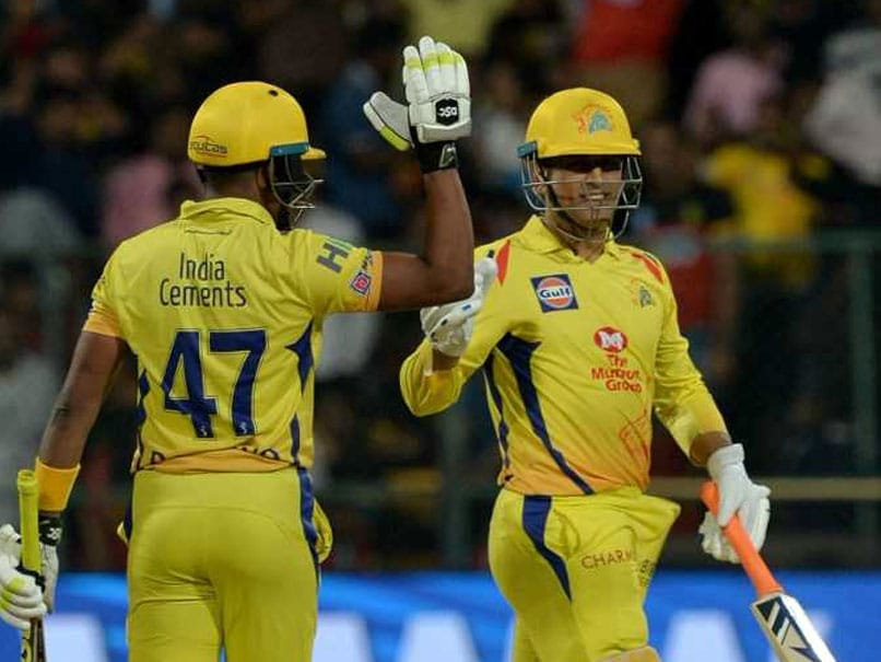 IPL 2018: MS Dhoni Hits Flurry Of Sixes. Watch Wife Sakshi, Anushka Sharma