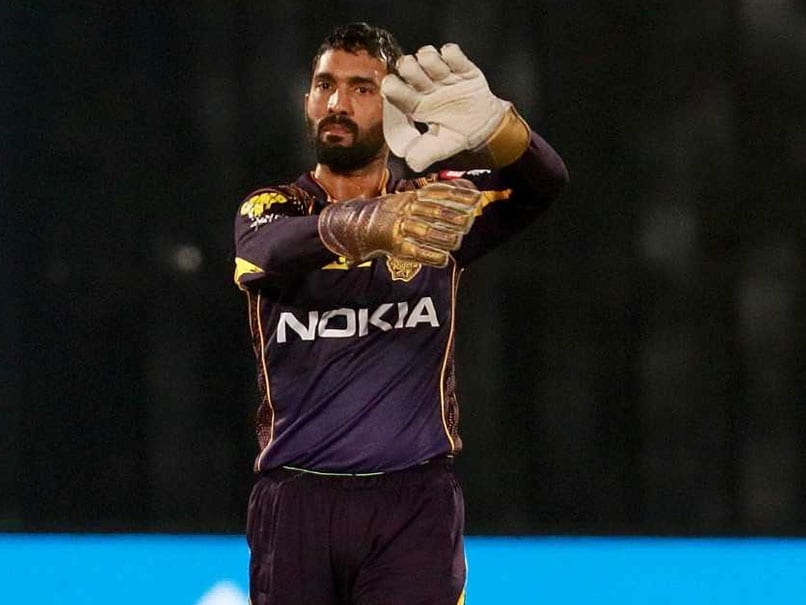 Watch This Dinesh Karthik Stunner. MS Dhoni Must Be Impressed