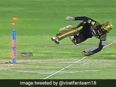 IPL 2018: धोनी स्टाइल में बनाया कार्तिक ने बल्लेबाज को शिकार, हवा में उड़कर की स्टम्पिंग