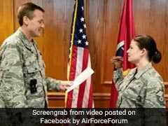 She Wore A Dinosaur Puppet During A Military Oath. It Got Her And A Colonel Removed From The Job