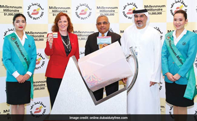 Another Indian Businessman Wins $1 Million Lottery In Dubai