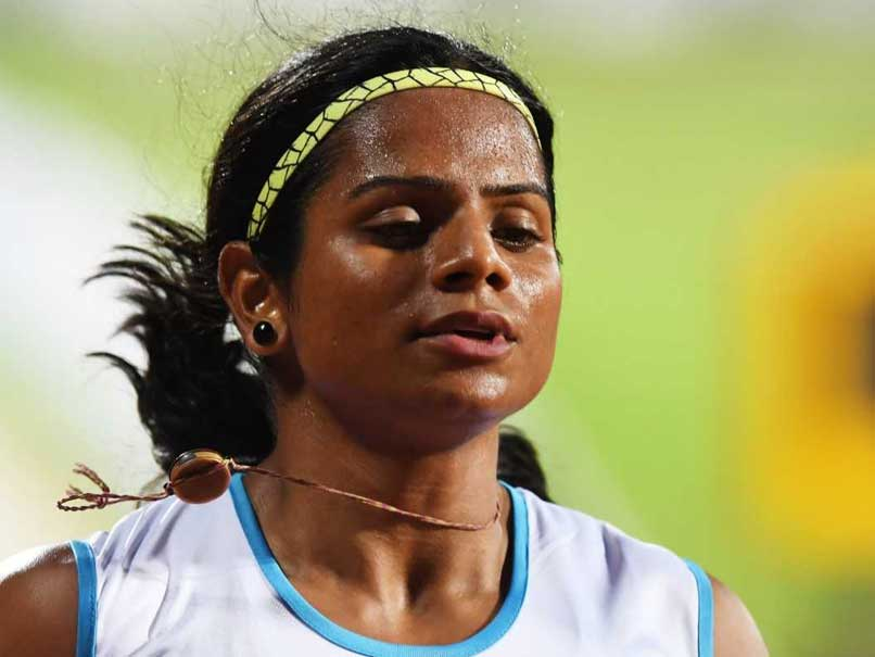 Sprinter Dutee Chand Blasts