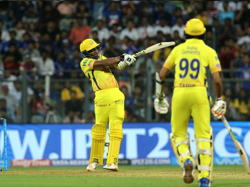 Indian Premier League 2018: Dwayne Bravo Stars As Chennai Super Kings Beat Mumbai Indians In Thriller