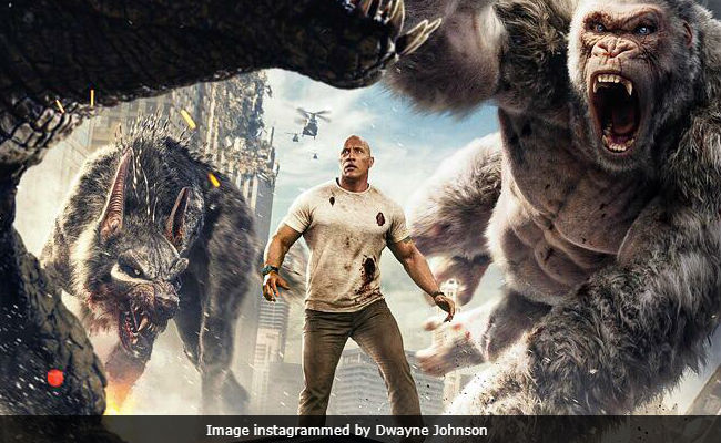 After Rampage And Jumanji Dwayne'The Rock Johnson Has A New Fan- Amazon's Jeff Bezos