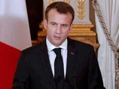 France's Macron Says 'Cannot Tolerate Normalisation Of Chemical Weapons' In Syria